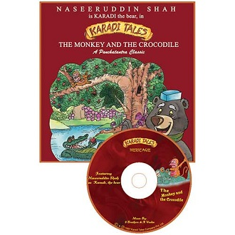 The Monkey and the Crocodile - Children Audio Book