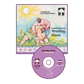 Wrestling Mania - Children Audio Book