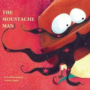 The Moustache Man - Children Picture Book