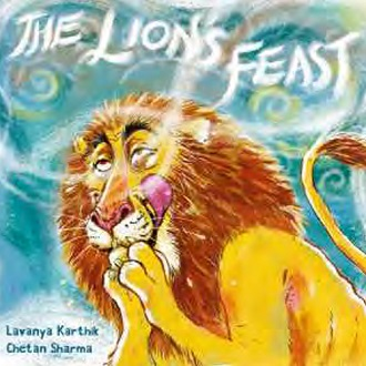 The Lion's Feast - Children Picture Book