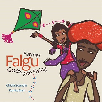 Farmer Falgu Goes Kite Flying - Children Picture Book