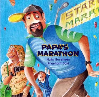 Papa's Marathon - Children Picture Book