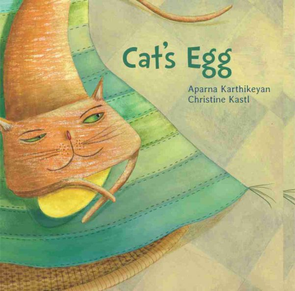Cats Egg picture book for children