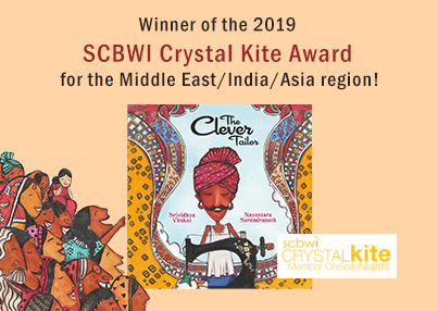 Clever Tailor SCBWI Cristal Kite Award