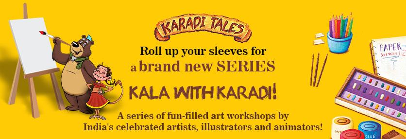 KalaWithKaradi Web Banner